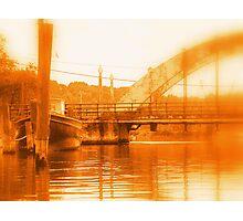 Rusty Wickford Concrete Bridge Photographic Print
