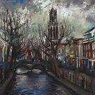 Utrecht Stormy Day by Cameron Hampton