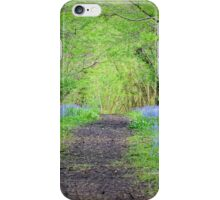Bluebells in Lower woods iPhone Case/Skin