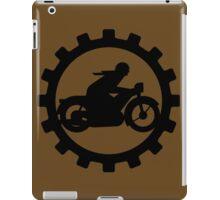 Vintage Motorcycle decal..... iPad Case/Skin