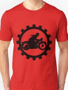 Vintage Motorcycle decal..... T-Shirt