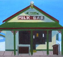 Poowong Milk Bar by Joan Wild