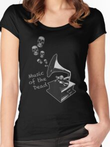 Music of the Dead Women's Fitted Scoop T-Shirt