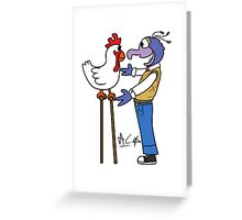 Gonzo and Camilla Greeting Card
