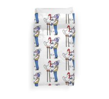 Gonzo and Camilla Duvet Cover