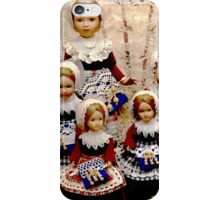 Brussels Dolls Lacemakers iPhone Case/Skin