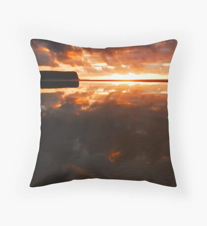East Inlet Reflections #3 Throw Pillow