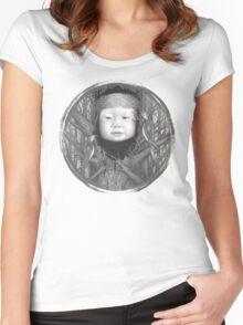 Rock, Scissors, Paper Women's Fitted Scoop T-Shirt