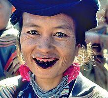 Black smile by John Spies