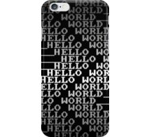 HELLO WORLD 2 iPhone Case/Skin