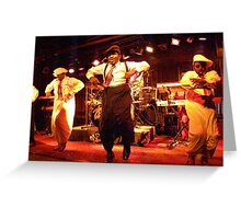 ZAPP Band High Jinks Greeting Card