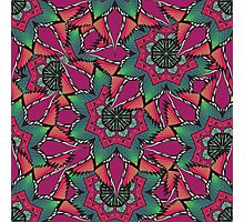 Psychedelic ornament Photographic Print