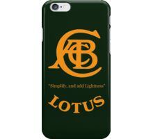 CABC - Lotus Case + Others iPhone Case/Skin