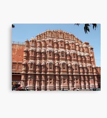 Hawa Mahal, Jaipur landmark, Rajesthan, India Canvas Print