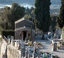 Cemetary at St Paul de Vence by suz01
