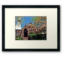 Chapel Charm Framed Print
