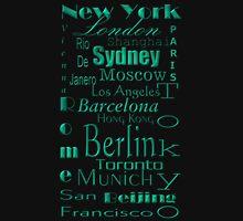 World Famous Cities T Shirt Long Sleeve T-Shirt