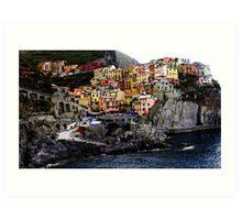 Manarolo, Italy Art Print