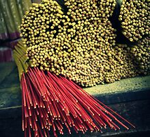 Joss Sticks for Sale by Caroline Fournier