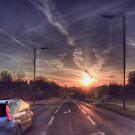 Southern Way Sunrise by Nigel Bangert