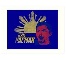 Represent Team Pacman Art Print
