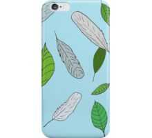 Feathers and Leaves 2 iPhone Case/Skin
