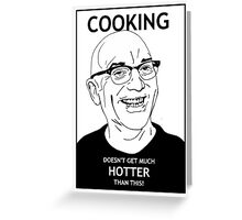 Gregg Wallace Greeting Card