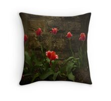 Pink Tulip's The Wall Throw Pillow
