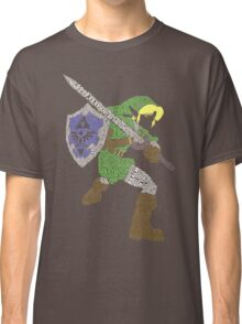 Legend of Zelda - Link - Typography Classic T-Shirt