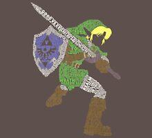 Legend of Zelda - Link - Typography Unisex T-Shirt
