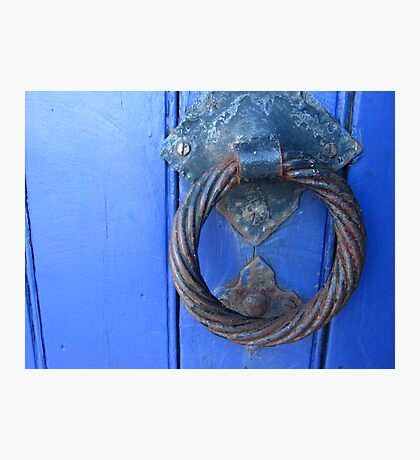 Greek Door Photographic Print