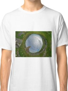 Glencolmcille Church - Sky In Classic T-Shirt