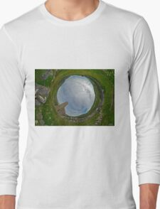 Glencolmcille Church - Sky In Long Sleeve T-Shirt