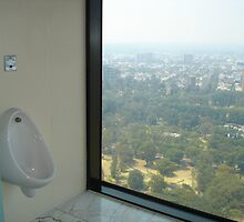 View from Sofitel men's toilet, Melbourne by HandyAndy