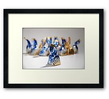 Toffee Framed Print