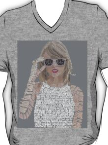 Taylor Swift Typography T-Shirt