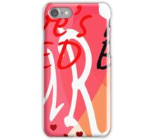 Love's Not Red iPhone Case/Skin