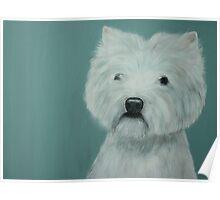 West Highland Terrier Poster