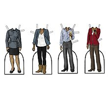 Vinette Robinson Paper Dolls by bluebell42