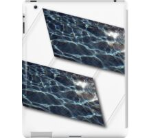 Water cubes. iPad Case/Skin