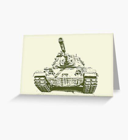 Army Tank Greeting Card