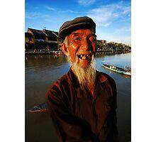 Old Man - Hoi An Photographic Print