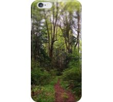 The Way Home - Campbell River, BC, Canada iPhone Case/Skin