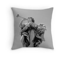 Angle in Rome Throw Pillow