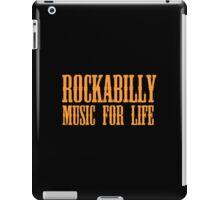 Rockabilly Music For Life iPad Case/Skin