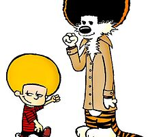 Calvin and Hobbes New Hair by SeeSide