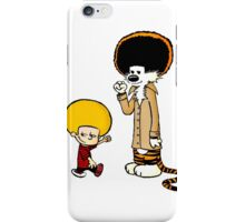 Calvin and Hobbes New Hair iPhone Case/Skin