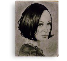 Portrait of Genie Canvas Print
