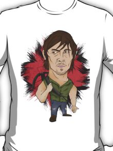 The Walking Dead - Daryl illustration  T-Shirt