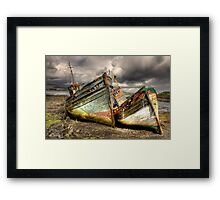 Shipwrecked Framed Print
